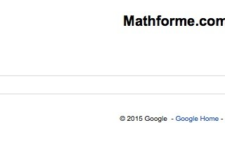 Math: Learning about Math with a Custom Search Engine