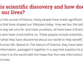 Scientific Discovery Web Quest